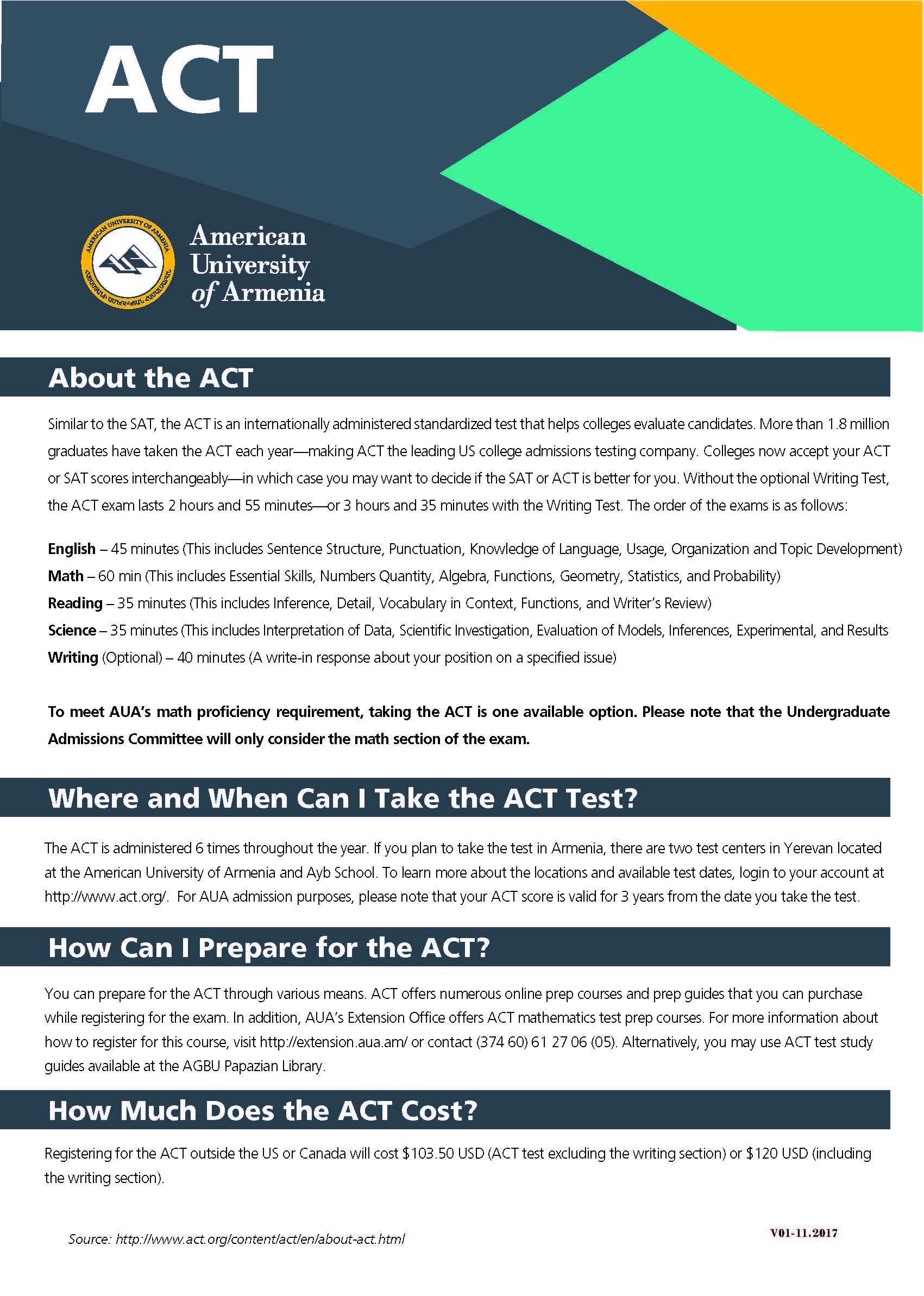 act writing section Recently, the act writing section underwent some changes, and is now designed to test your ability to communicate in writing by analyzing different perspectives, expressing your own perspective, and composing a clear and organized essay.